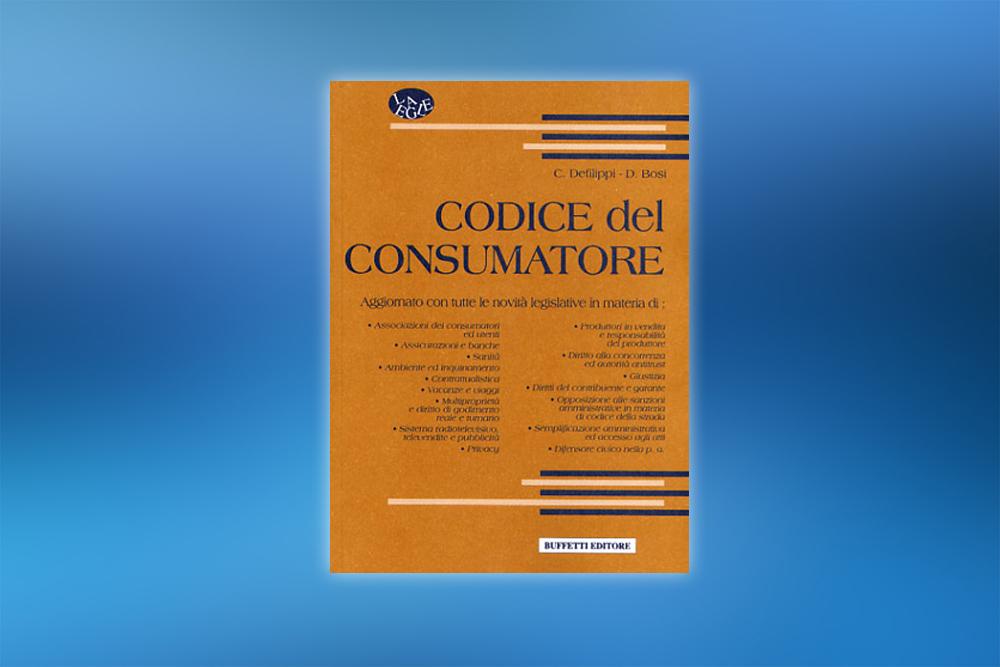 codice del consumatore
